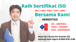 Sertifikat ISO Harga Promo 2021