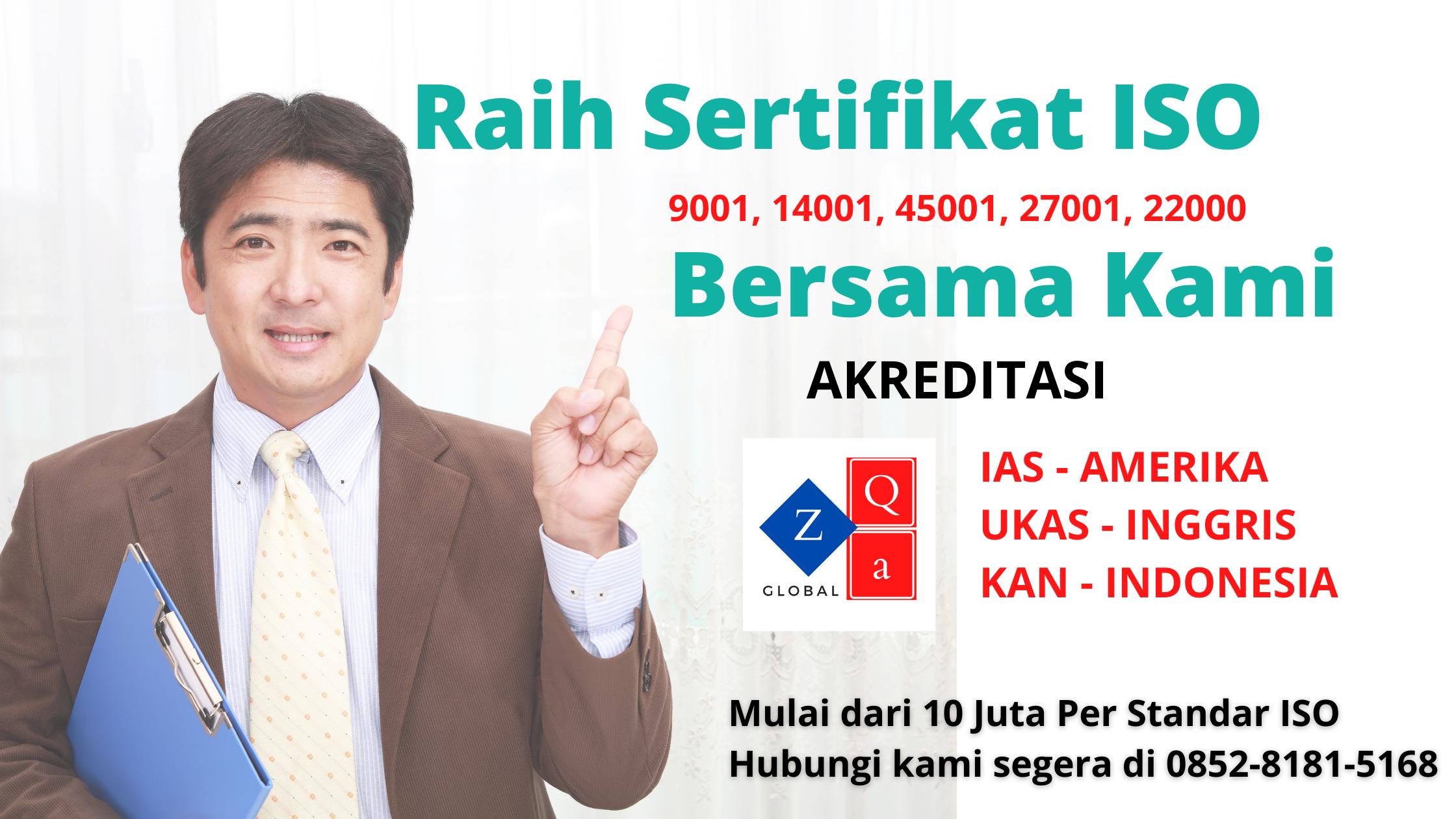 Sertifikat ISO Harga Promo 2020